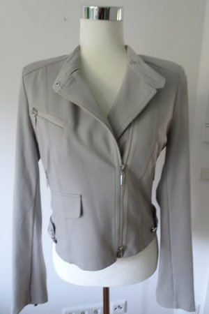 Airfield Short Blazer light grey mixture fibre