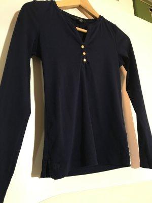 Jersey Henley Shirt Navy XS von Ralph Lauren
