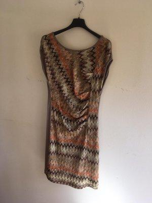 Jersey-Kleid mit Missoni-Muster
