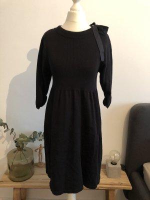 Jersey Kleid mit Schleife auf der Schulter