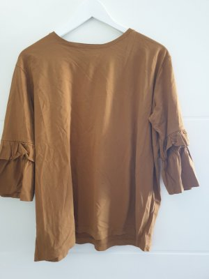 Mark Adam Short Sleeve Sweater brown