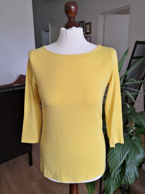 Hallhuber Longsleeve yellow-dark yellow mixture fibre