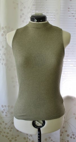 NA-KD Tanktop olijfgroen Polyester