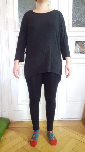 Robe bas asymétrique gris anthracite