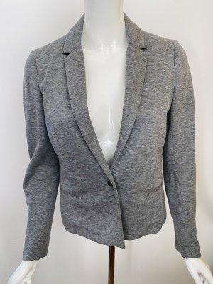 Comptoir des Cotonniers Jersey blazer zilver