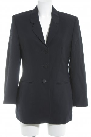 Jerseyblazer dunkelblau Business-Look