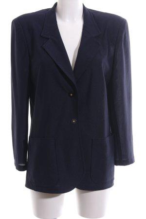 Jerseyblazer dunkelblau Casual-Look