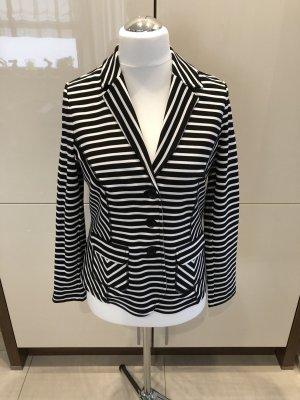 Bonita Jersey blazer zwart-wit