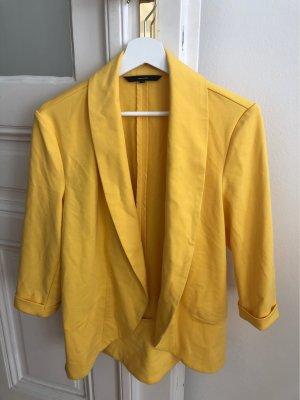 Vero Moda Blazer en jersey jaune-jaune primevère
