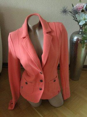 edc by Esprit Blazer in jersey arancione Cotone
