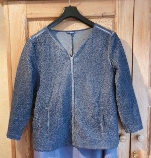 Jerseyjacke blau letzte Preissenkung