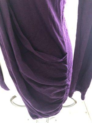Jerseyjacke in tiefdunklem Violett