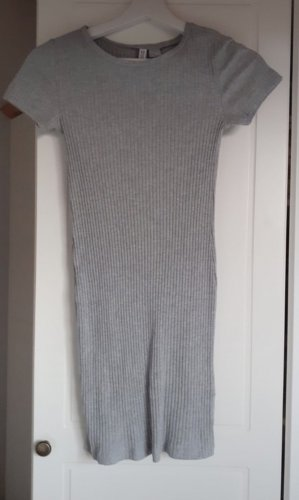 H&M Abito jersey grigio