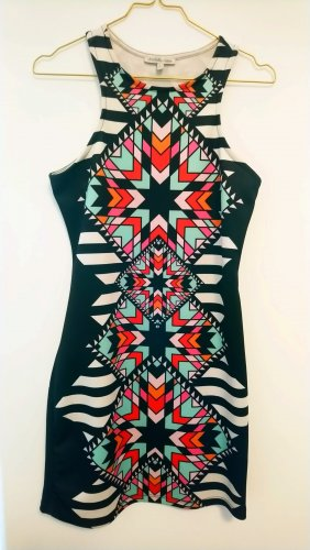 Charlotte Russe Jersey Dress multicolored
