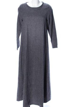 Jerseykleid hellgrau meliert Casual-Look