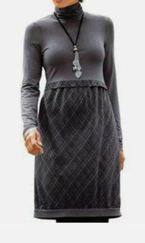 Blancheporte Sukienka z dżerseju szary