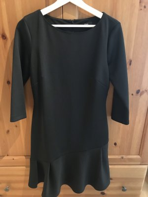 Jerseykleid klassisch schwarz, s.Oliver Black Label