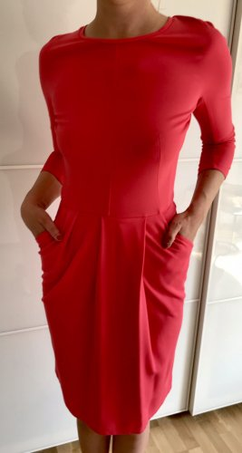 Weekend Max Mara Jersey Dress magenta-raspberry-red