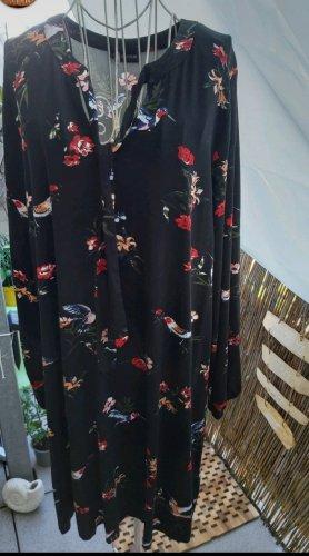 BODY FLIRT Jersey Dress black-red