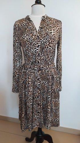 Jerseykleid mit Leopard-Print