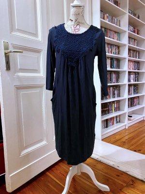 bpc bonprix collection Sukienka z dżerseju ciemnoniebieski