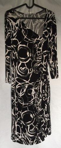 Jerseykleid mit Wickeleffekt