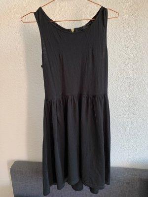 Jerseykleid schwarz, H&M, Größe M