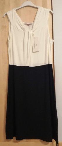 Jerseykleid schwarz-weiß Anna Field