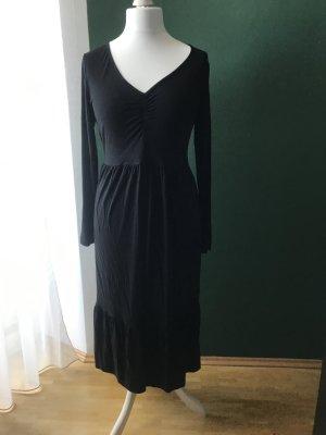 Anna Field Robe en jersey noir viscose
