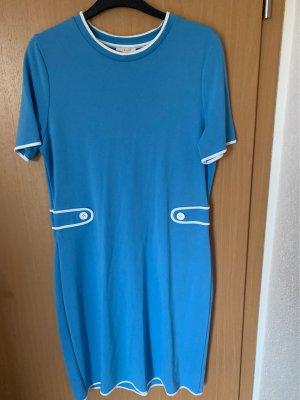 Esprit Jersey Dress neon blue-white