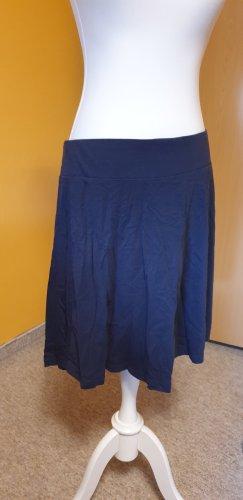 Orsay Spódnica ze stretchu ciemnoniebieski Bawełna