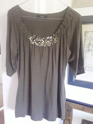 Jerseyshirt mit Pailletten von Laurèl.