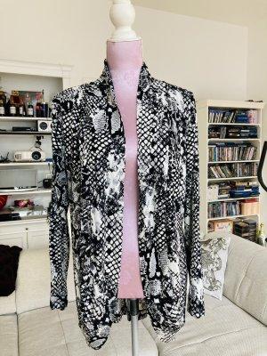 Melrose Veste chemise noir-blanc