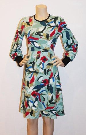 Eigenmarke Vestido de tela de jersey multicolor