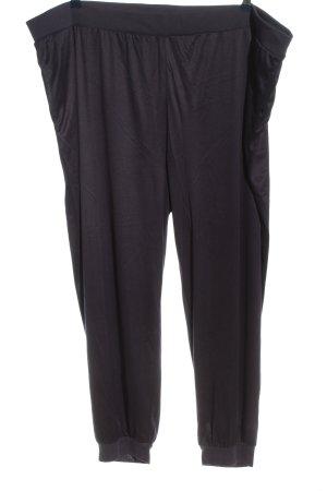 JERY MOOD Luźne spodnie czarny W stylu casual