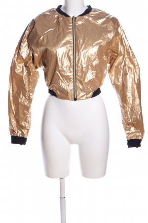 Jess Glynne x Bench. Reversible Jacket gold-colored-black casual look