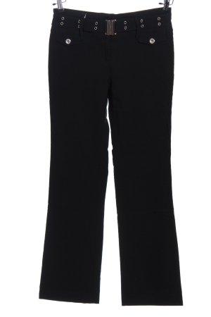 Jessica Baggy broek zwart casual uitstraling
