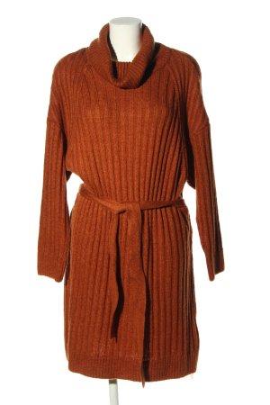 Jessica C&A Vestito di lana marrone stile casual