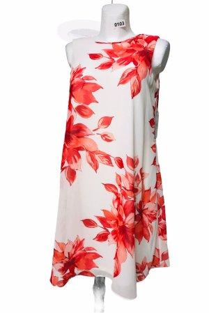 Jessica Howard Damen Kleid Weiß Rot L