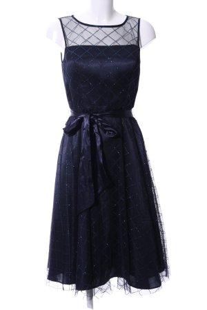 Jessica Howard Maxikleid blau Karomuster Elegant