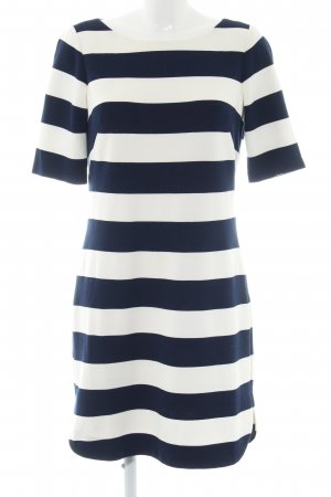 Jessica Howard Strickkleid blau-weiß Streifenmuster Casual-Look