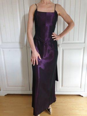 Jessica McClintock 32 XXS Gunne Sax Abendkleid Maxi Kleid Abschlussball Hochzeitskleid Brautkleid