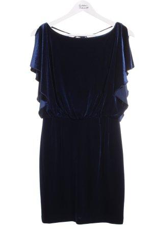 Jessica Simpson Cocktailkleid dunkelblau Bänderverzierung