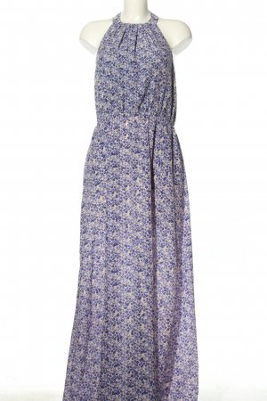 Jessica Simpson Maxikleid creme-blau Allover-Druck Casual-Look