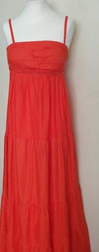 Jessica Simpson Maxi abito arancione-albicocca Cotone
