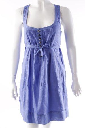 Jessica Simpson Mini Abito blu acciaio-blu fiordaliso Cotone