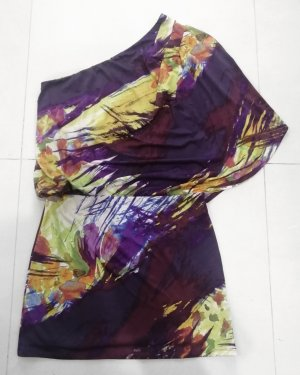 Jessica Simpson One Shoulder Dress multicolored