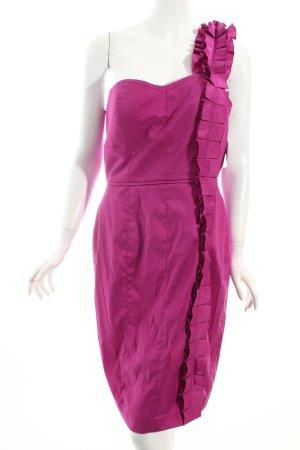 Jessica Simpson One-Shoulder-Kleid violett Casual-Look