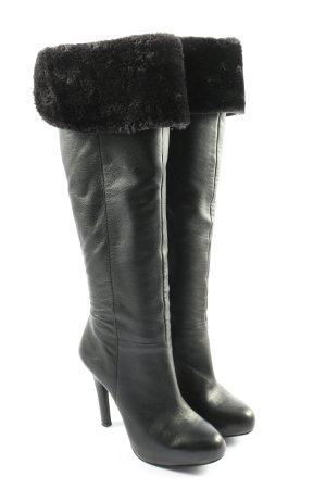 Jessica Simpson Overknees black elegant