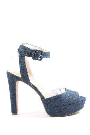 Jessica Simpson Peeptoe Pumps blau Elegant